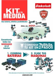 KITS A MEDIDA MAKITA DAKOLUB